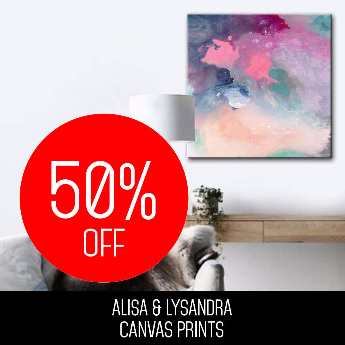 ALISA & LYSANDRA CANVAS PRINTS
