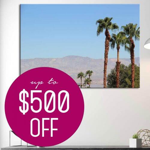 california dreaming canvas prints