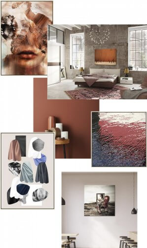 terracotta rust colour trend