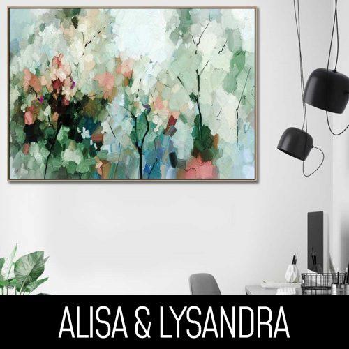 New Alisa & Lysandra Artwork