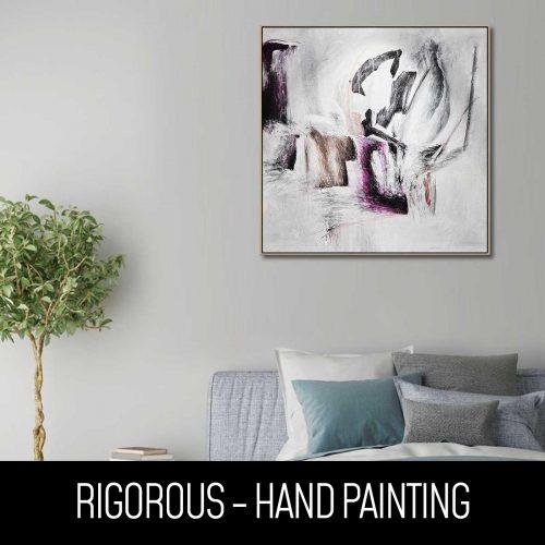 rigorous - hand painting